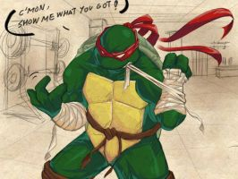TMNT-You ready? by tmask01