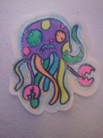 Crabby Jellyfish. by KashaKiller