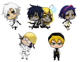 DGM-phonestraps by W-uu