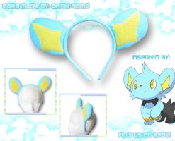 Shinx Ears Headband by AnimeNomNoms