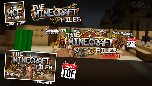 The Minecraft Files Logo - Chimneyswift11 by FinsGraphics