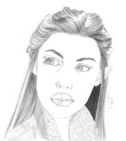 Arwen - 20 minutes drawing by dharma-dvg