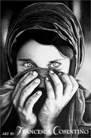 Afghan Girl 01 by 19Frency94-Art