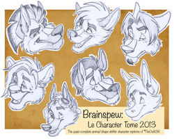 Brainspew: Le Character Tome. by TheOutli3R