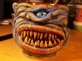 MONSTER MUG READY FOR ADOPTION by CorazondeDios