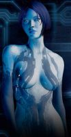 Cortana - Halo 4 Model - 9 by solarnova1101