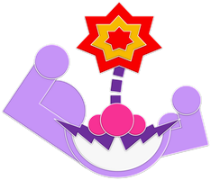 Wario Muscles Emblem by RafaelMartins