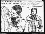 Getting Dean's Attention by StyxxsOmega