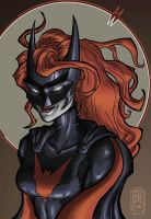 2017 Batwoman Portrait 1 by David Thomas Engquist by chyminy