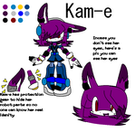 New Chara: Kam-e by Frosted-Aqua