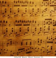 Music Note Texture 1 by CAD-animedreams