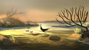 The marshlands by r-pre