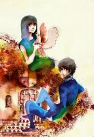 Cassie and Jesper by faQy