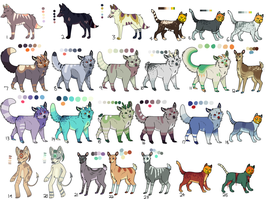 :FREE: HUGE Adopt batch! (CLOSED) by necrovut