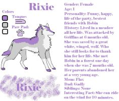 Rixie Ref by KenshiTora