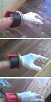 Shadow The Hedgehog Gloves by NeoMetalSonic