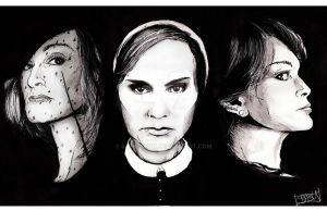 Faces of Jessica Lange by Sabu-chan