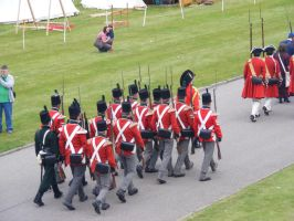 1814 British Soldiers 01 by Axy-stock