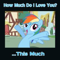 Rainbow Dash Has Something To Tell You by Nightfire3024