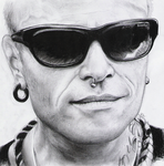 Keith Flint Portrait by LauraRamirez