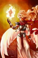 Firey Angel by PsychoAnn