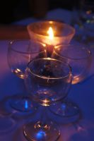 Candle and Glas by Power-Barbie