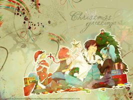 Christmas wallpaper pt 2 by SnowStar90