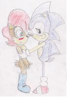 Sonic And Sally: I Love You, It's The Truth Sal by ClassicSonicSatAm
