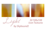 Light - 30 100x100 Textures by skybound2