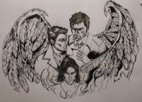 Carry On My Wayward Son by KissedbymyMuse
