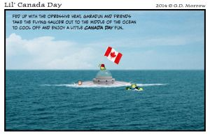 Lil' Canada Day 2014 by DrOfDemonology