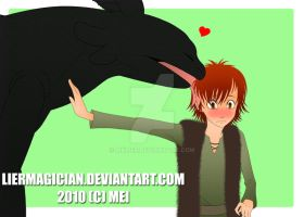 HTTYD-I want more than a touch by MKLier