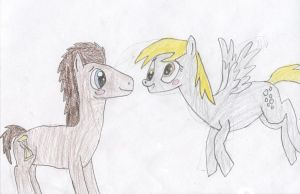 Doctor x Derpy by Wesdaaman