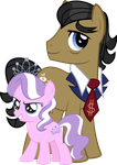 Filthy Rich and Diamond Tiara by Psyxofthoros