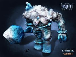 Ice Colossus - Ragnarok by rlanghi