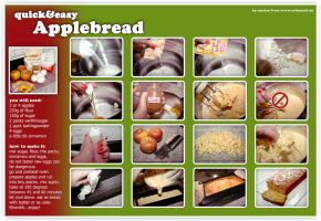 Applebread or Applecake recipe by Finvara