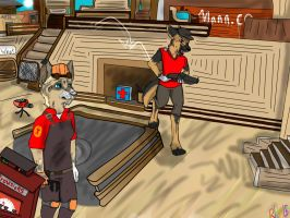 TF2 forfriends 2015 by ArtsyColourfullpaws