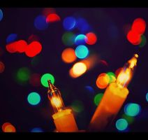 Bokeh light by LyricalLiesX