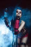 LOL - Jinx - XOXO by MilliganVick
