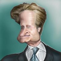 Michael Douglas Caricature by jonesmac2006
