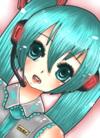 Hatsune Miku by BearyBu