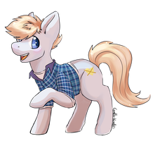 Roy: Pony comission for squidip by Corelle-Vairel