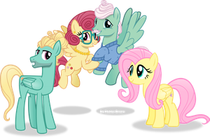 Fluttershy's family by Vector-Brony