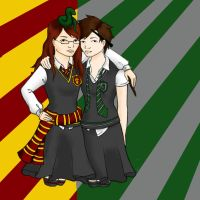 Me and Melanie by nightwing6497