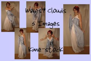 Waves and Clouds 4 by kime-stock