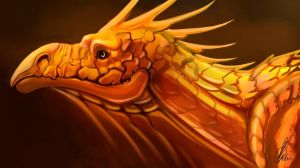 Golden Dragon by Dimenran