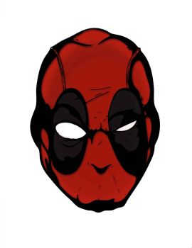 deadpoolcolored by thestefan