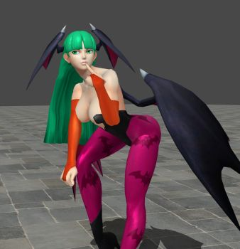 REBEL YELL: Sexy Morrigan 3 by luiboy20