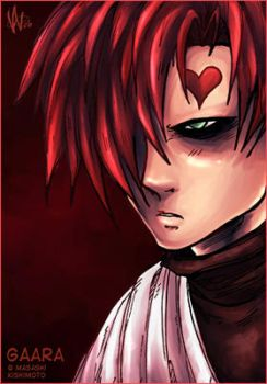 Red Gaara by valval