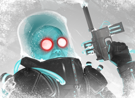 Mr. Freeze by MattDeMino